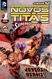 Cover Thumbnail for Novos Titãs & Superboy (Panini Brasil, 2012 series) #1