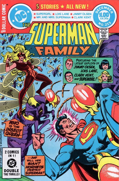 Cover for The Superman Family (DC, 1974 series) #213 [Direct]