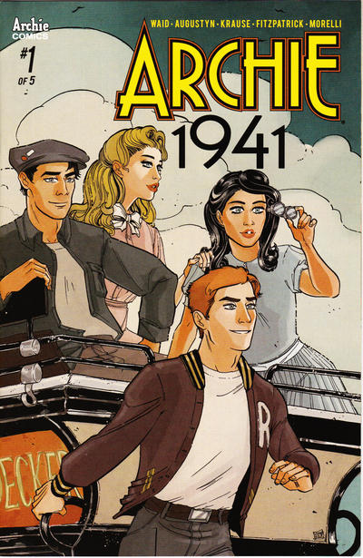 Cover for Archie 1941 (Archie, 2018 series) #1 [Cover A Peter Krause]