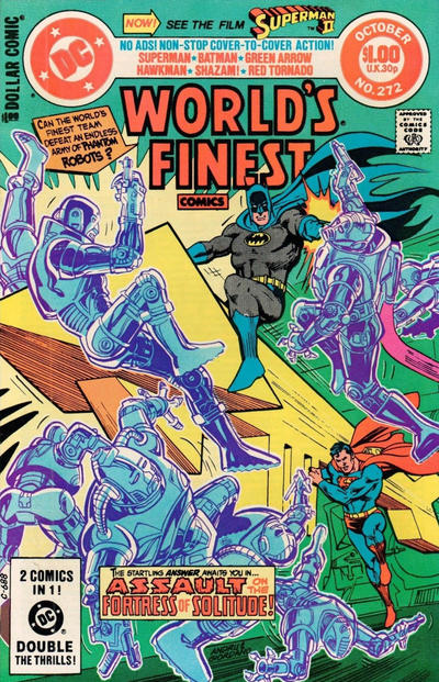 Cover for World's Finest Comics (DC, 1941 series) #272 [Newsstand]