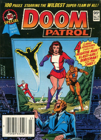 Cover for DC Special Blue Ribbon Digest (DC, 1980 series) #19 [Newsstand]