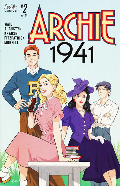 Cover for Archie 1941 (Archie, 2018 series) #2 [Cover A Peter Krause]