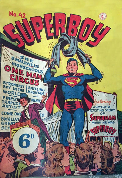 Cover for Superboy (K. G. Murray, 1949 series) #42