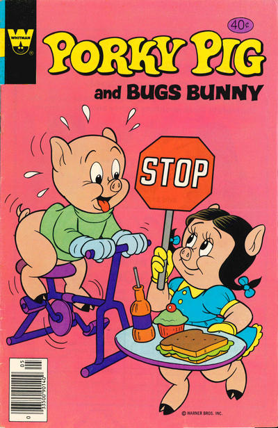 Cover for Porky Pig (Western, 1965 series) #88 [Gold Key]