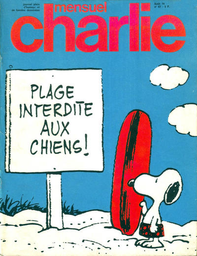 Cover for Charlie Mensuel (Éditions du Square, 1969 series) #67