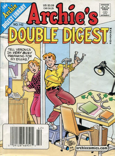 Cover for Archie's Double Digest Magazine (Archie, 1984 series) #142 [Direct Edition]