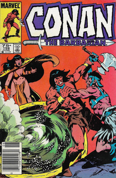 Cover for Conan the Barbarian (Marvel, 1970 series) #159 [Canadian]