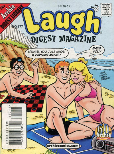 Cover for Laugh Comics Digest (Archie, 1974 series) #177 [Direct Edition]