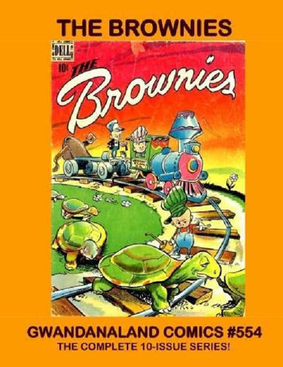 Cover for Gwandanaland Comics (Gwandanaland Comics, 2016 series) #554 - The Brownies