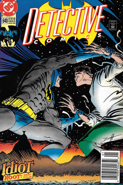 Cover for Detective Comics (DC, 1937 series) #640 [Direct]