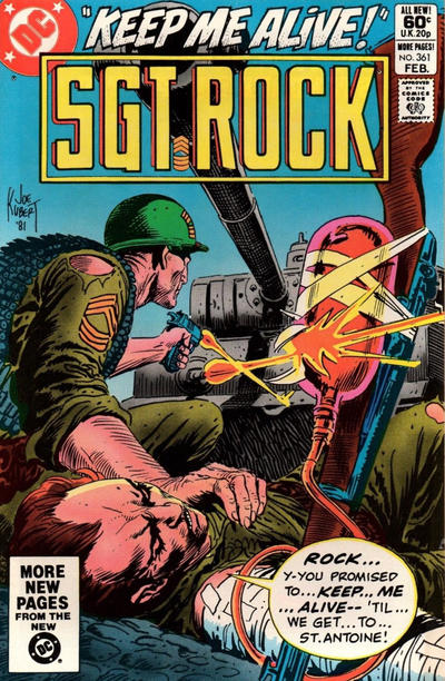 Cover for Sgt. Rock (DC, 1977 series) #361 [Direct]