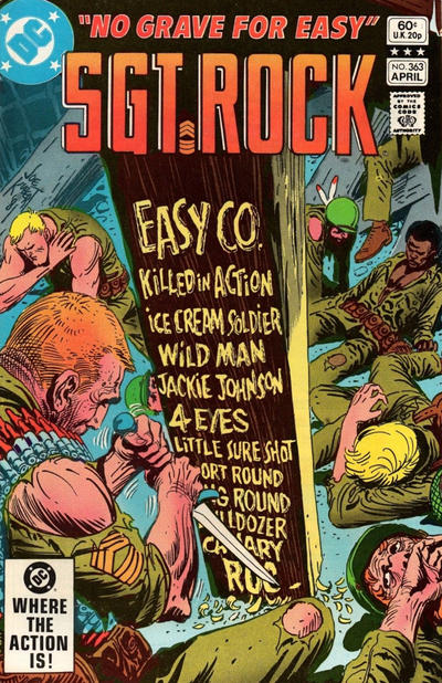 Cover for Sgt. Rock (DC, 1977 series) #363 [Direct]