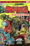 Cover for Man-Thing (Marvel, 1974 series) #19 [British]
