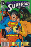 Cover for Superboy (DC, 1990 series) #2 [Newsstand]