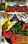 Cover for Man-Thing (Marvel, 1979 series) #11 [Newsstand]