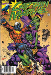 Cover Thumbnail for Captain Marvel (2000 series) #4 [Newsstand]