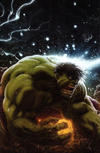 Cover for Immortal Hulk (Marvel, 2018 series) #1 [Unknown Comics Exclusive Kaare Andrews Connecting Virgin Art]