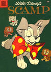 Cover Thumbnail for Four Color (1942 series) #833 - Walt Disney's Scamp [15¢]