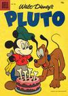 Cover Thumbnail for Four Color (1942 series) #853 - Walt Disney's Pluto [15¢]