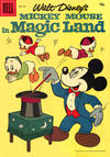 Cover for Four Color (Dell, 1942 series) #819 - Walt Disney's Mickey Mouse in Magic Land [15¢]