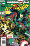 Cover for The Amazing Spider-Man (Marvel, 1963 series) #383 [Newsstand]