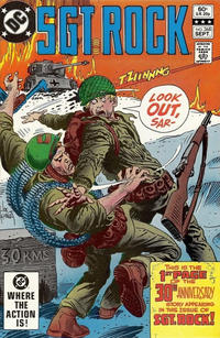 Cover Thumbnail for Sgt. Rock (DC, 1977 series) #368 [Direct]