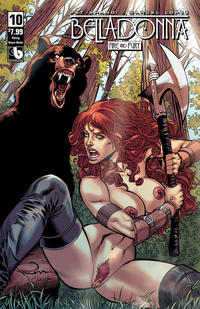 Cover Thumbnail for Belladonna: Fire and Fury (Avatar Press, 2017 series) #10 [Viking Vixen Nude Cover]