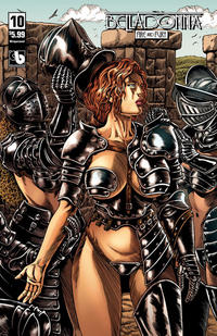 Cover for Belladonna: Fire and Fury (Avatar Press, 2017 series) #10 [Fifty Shades Nude Cover]