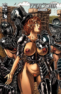 Cover Thumbnail for Belladonna: Fire and Fury (Avatar Press, 2017 series) #10 [Wraparound Nude Cover]