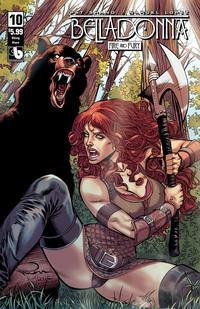 Cover Thumbnail for Belladonna: Fire and Fury (Avatar Press, 2017 series) #10 [Viking Vixen Cover]