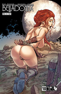 Cover Thumbnail for Belladonna: Fire and Fury (Avatar Press, 2017 series) #10 [Shield Maiden Nude Cover]