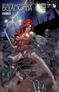 Cover Thumbnail for Belladonna: Fire and Fury (Avatar Press, 2017 series) #10 [Undead Nude Cover]
