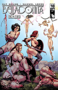 Cover Thumbnail for Belladonna: Fire and Fury (Avatar Press, 2017 series) #10 [Nude Cover]