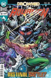 Cover Thumbnail for Aquaman (DC, 2016 series) #42 [Eduardo Pansica & Eber Ferreira Cover]