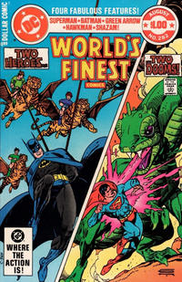 Cover for World's Finest Comics (DC, 1941 series) #282 [Direct]