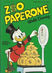 Cover Thumbnail for Zio Paperone (Arnoldo Mondadori Editore, 1987 series) #8