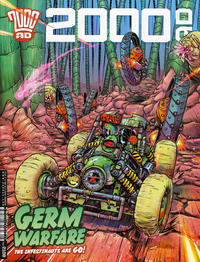 Cover Thumbnail for 2000 AD (Rebellion, 2001 series) #2108