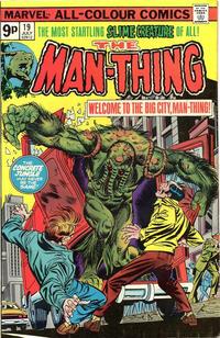 Cover for Man-Thing (Marvel, 1974 series) #19 [Regular]