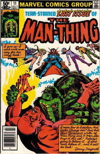 Cover Thumbnail for Man-Thing (Marvel, 1979 series) #11 [Newsstand]