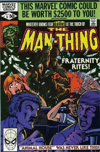 Cover Thumbnail for Man-Thing (Marvel, 1979 series) #6 [Direct]