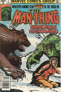 Cover Thumbnail for Man-Thing (Marvel, 1979 series) #2 [Newsstand]