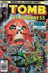 Cover Thumbnail for Tomb of Darkness (Marvel, 1974 series) #23 [British]
