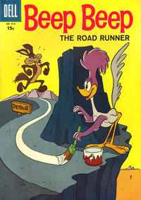 Cover Thumbnail for Four Color (Dell, 1942 series) #918 - Beep Beep the Roadrunner [15¢]