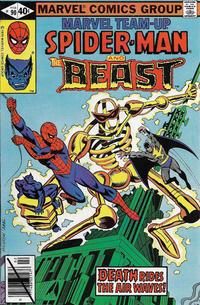Cover Thumbnail for Marvel Team-Up (Marvel, 1972 series) #90 [Direct]