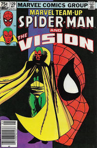 Cover Thumbnail for Marvel Team-Up (Marvel, 1972 series) #129 [Canadian]