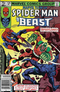 Cover Thumbnail for Marvel Team-Up (Marvel, 1972 series) #124 [Canadian]