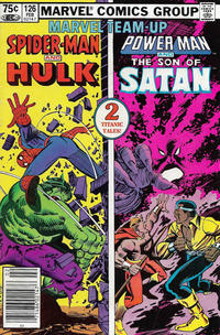 Cover Thumbnail for Marvel Team-Up (Marvel, 1972 series) #126 [Canadian]