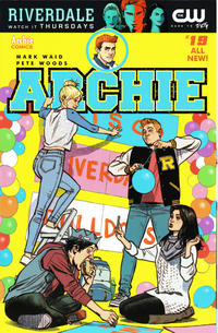 Cover Thumbnail for Archie (Archie, 2015 series) #19 [Cover C - Greg Smallwood]