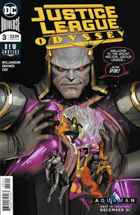 Cover Thumbnail for Justice League Odyssey (DC, 2018 series) #3 [Stjepan Šejić Cover]