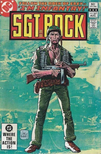 Cover for Sgt. Rock (DC, 1977 series) #367 [Newsstand]